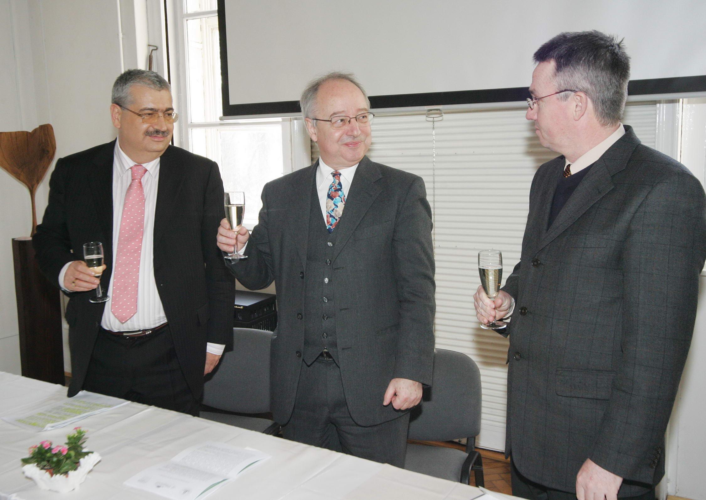 Projektindító sajtótájékoztató 2009. február 19-én délután 13 órakor