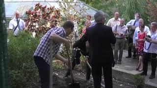 Füvészkert 250 - emlékfa ültetés