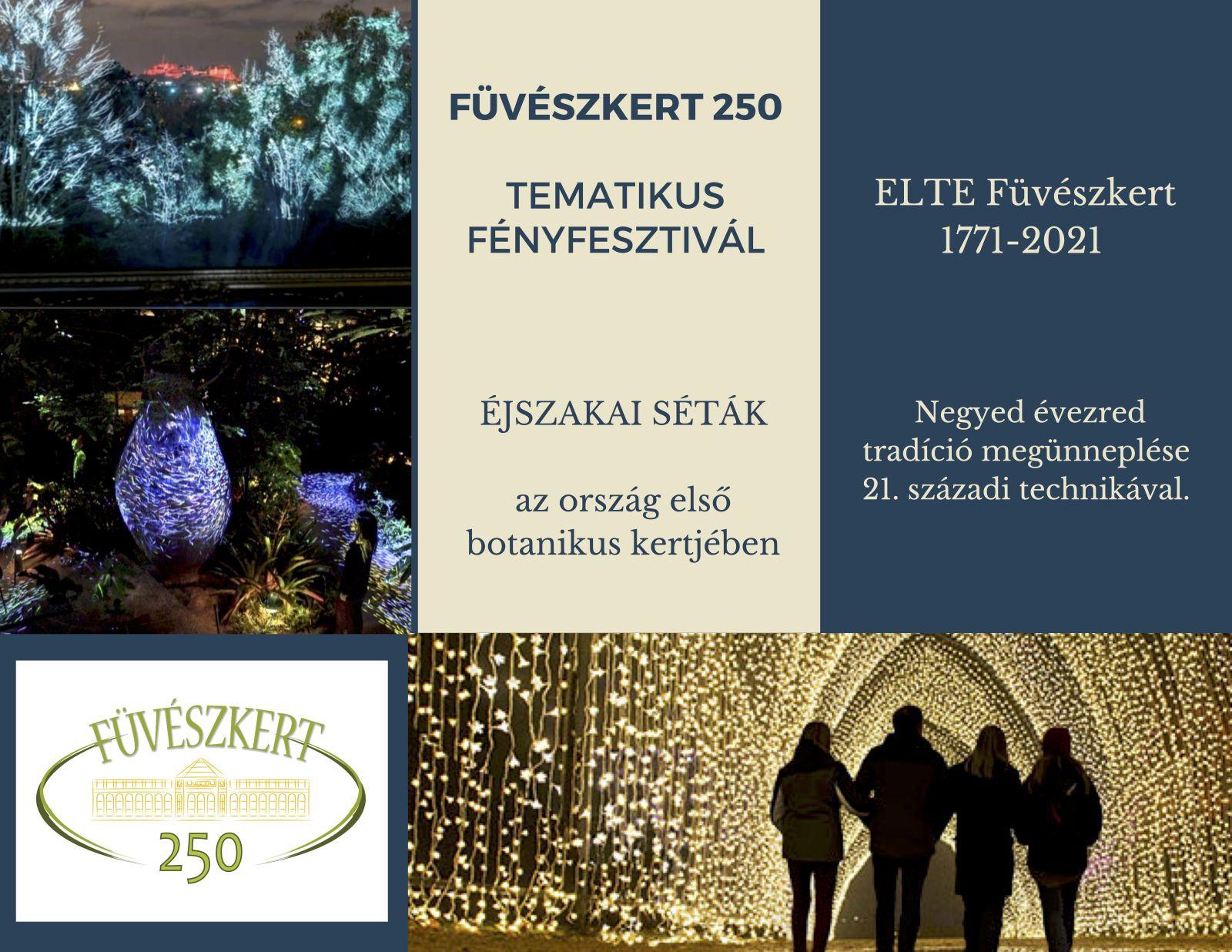 Füveszkert 250 - Ajánlat támogatóknak